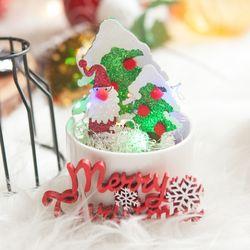 펄눈트리 5cm (3개입) 크리스마스 장식 소품 TROMCG