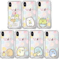 SKINU x 스밋코구라시 아이스크림 투명케이스-아이폰8 7