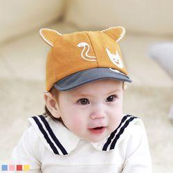 야옹이 까꿍 아기 캡모자 (0-36개월) 509323
