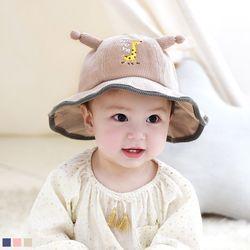 기린 골지 유아 벙거지모자 (12-36개월) 509360