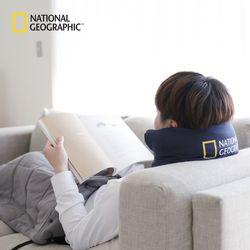 내셔널지오그래픽 3WAY 목베개 (네이비)