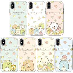 SKINU x 스밋코구라시 꽃테마  카드수납-갤럭시 S6