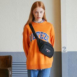 Applique Knit (orange)