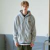Basic Fleece Hood Zipup (gray)