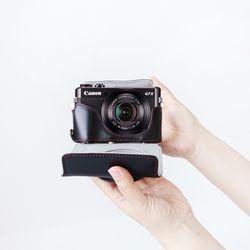 캐논 g7x mark3 블랙 카메라 케이스 파우치 가방 넥스트랩