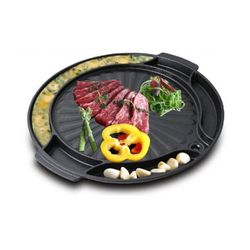 키친아트 스톤 4중 코팅 원형 구이팬