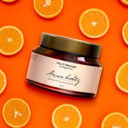 비타민C 마사지크림 420ml 대용량 칙칙한피부 색소침착 영양