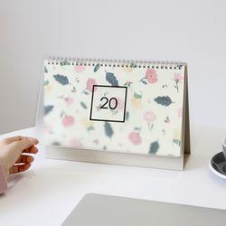[쁘띠데코스티커증정] 2020 wws 탁상용 캘린더 패턴
