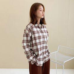[로코식스] 클래식 체크 셔츠
