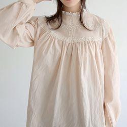 lace detail cutie blouse