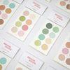 원형스티커 S 01 02 03번 (16mm) circle stickers S