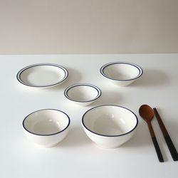 시라쿠스 블루라인 혼밥 1인 식기세트