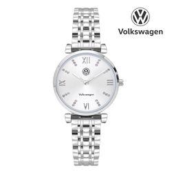 커플메탈시계 여성용 VW-ArteonL-32