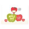 마음 사과 애플데이 엽서