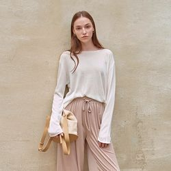 LOOSE SUMMER KNIT IVORY