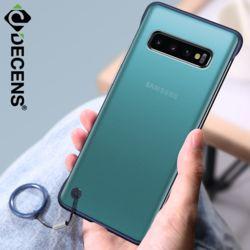 데켄스 M601 갤럭시 클리어 스마트 링 휴대폰 케이스