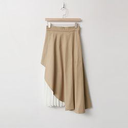 Unbal Mix Full Skirt