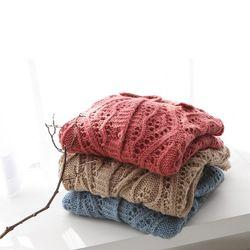 New Wool Crochet Cardigan
