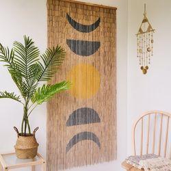 대나무 커튼 발 인테리어 벽장식 - 문 싸이클