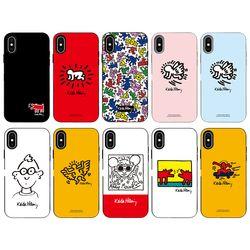 SKINU x Keith Haring 2019 카드수납-아이폰XSMAX (젠더포함)