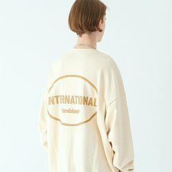 인터내셔널 스웨트셔츠 크림