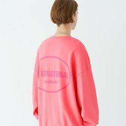 인터내셔널 스웨트셔츠 핑크