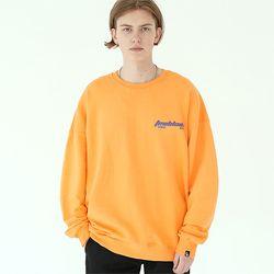 엣지 레이져 스웨트셔츠 오렌지