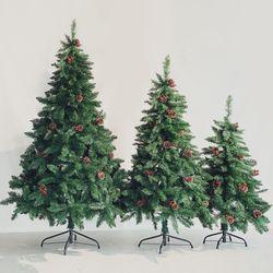 크리스마스 울리 트래드 그린 크리스마스 트리 150cm
