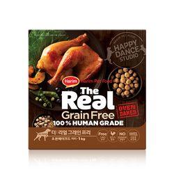 더리얼 그레인프리 오븐베이크드 닭고기 퍼피 1kg.