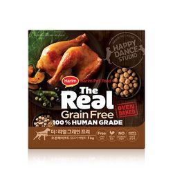 더리얼 그레인프리 오븐베이크드 닭고기 어덜트 1kg.