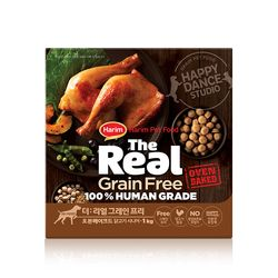 더리얼 그레인프리 오븐베이크드 닭고기 시니어 1kg.