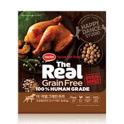 더리얼 그레인프리 오븐베이크드 닭고기 어덜트 2.4kg
