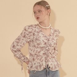 String Blouse Ivory