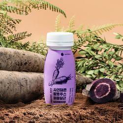 [무료배송] 뉴트리본 자연담은 유산균 발효주스 퍼플당근 100ml x 20병