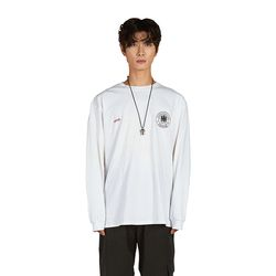 NPNF Emblem Long Sleeve - White