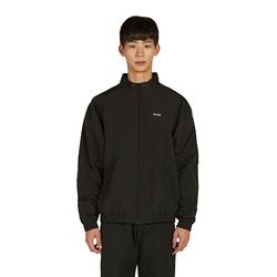 Logo Track Jacket - Black