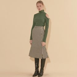 Mermaid Skirt Gingham Check