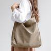 [ZIUM] W-11 베이시스 스웨이드 여성가방 핸드백 가죽가방