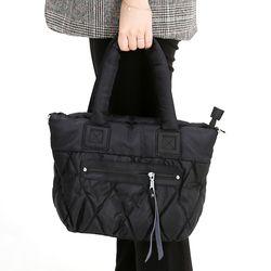 [ZIUM] W-13 제르망 패딩 숄더백 여성가방 핸드백 패딩가방