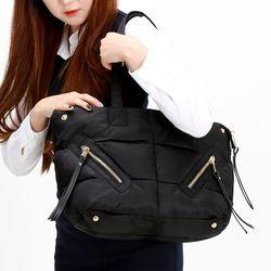 [ZIUM] W-23 나잇패딩 숄더백 여성가방 핸드백 패딩가방