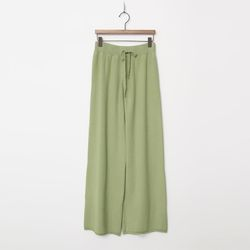 New Wool Knit Wide Pants