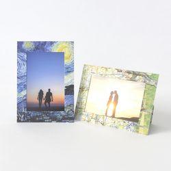 스탠딩 페이퍼프레임 - 4x6 고흐 5매 (종이액자)