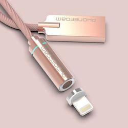 폰폼 USB 마그네틱 자석 고속 충전케이블 세트