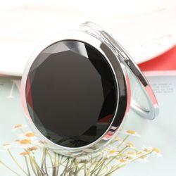 크리스탈 양면 손거울(블랙)