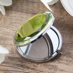 크리스탈 접이식 양면 손거울