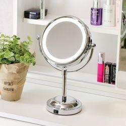 LED 스탠딩 조명 거울