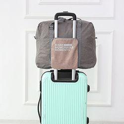 여행용 캐리어 보조가방 폴딩백