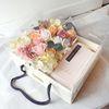 포유 비누꽃+프리저브드 플라워 용돈박스