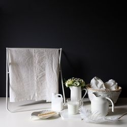 [Fabric] 실키에떼 하프린넨 슈가화이트 Sugar White