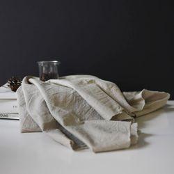 [Fabric] 실키에떼 하프린넨 런던포그내추럴 London Fog Natural